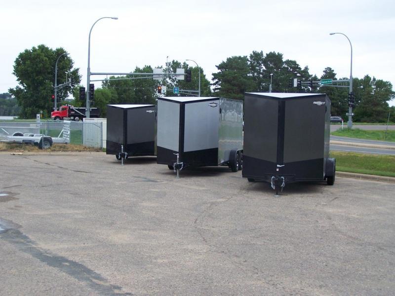 2021 Impact Trailers IMPSW7x16TE2 Enclosed Cargo Trailer - WHITE