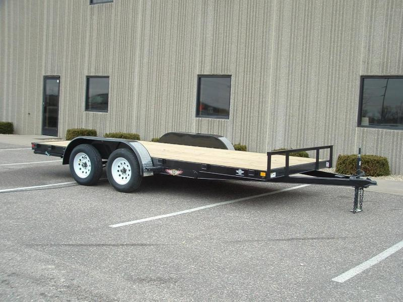 2021 H and H Trailer H8216+2GDFD-070 Car Hauler