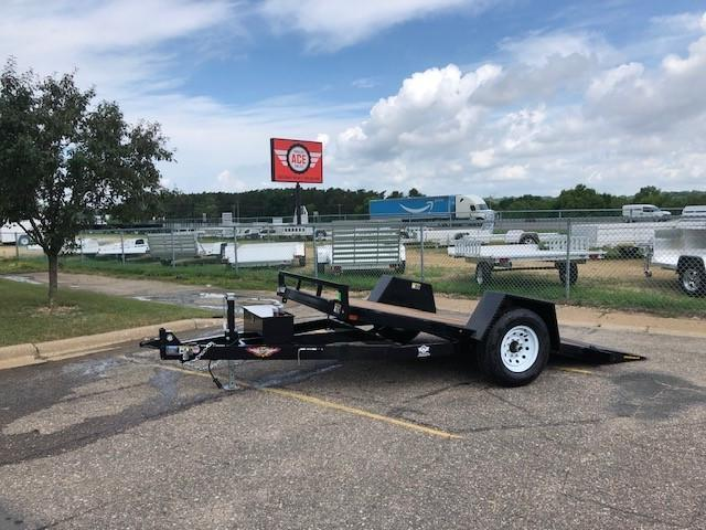 2021 H and H Trailer H7812GTL-078 Heavy Duty Tiltbed Trailer