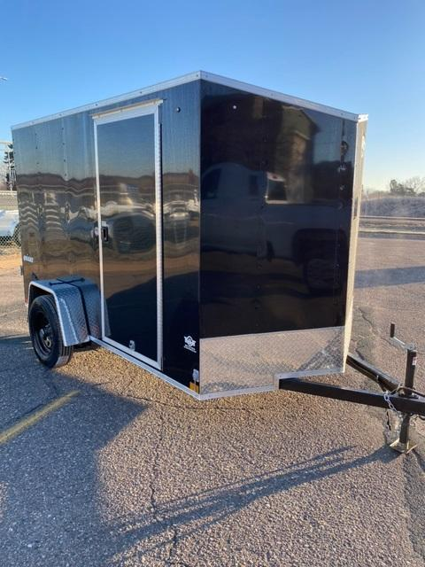 2021 Impact Trailers IMPQK610SA QUAKE Enclosed Cargo Trailer - BLACK