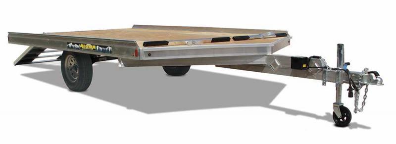 2022 Aluma 8612D Snowmobile Trailer