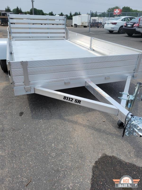 2022 Aluma 8112SR Utility Trailer