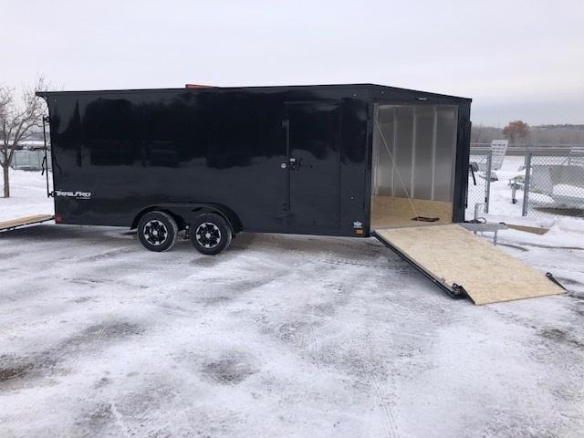 2021 Impact Trailers IMPTP7x23TE2  TRAILPRO Snowmobile Trailer