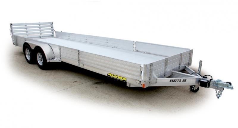 2022 Aluma 8116 TA-R-BT-SR Utility Trailer