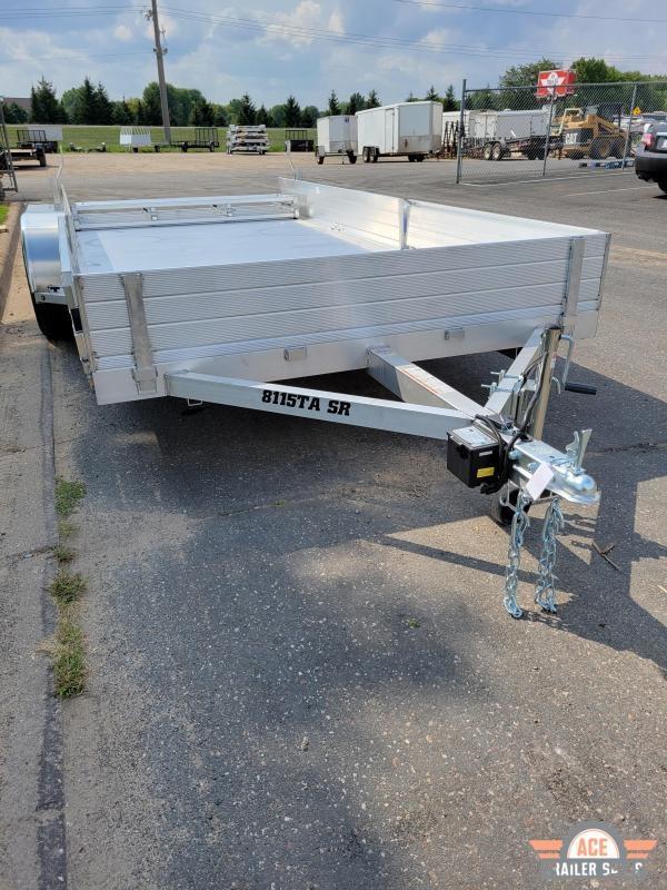 2022 Aluma 8115TA SR Utility Trailer