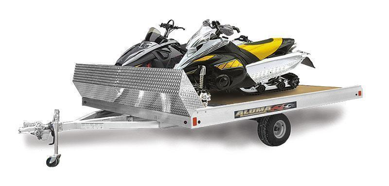 2021 Aluma 8610T Snowmobile Trailer