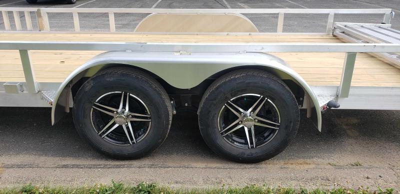 2021 H and H Trailer 82x20 Aluminum ATV 7K Tandem (H8220TRSAV-070) ATV Trailer