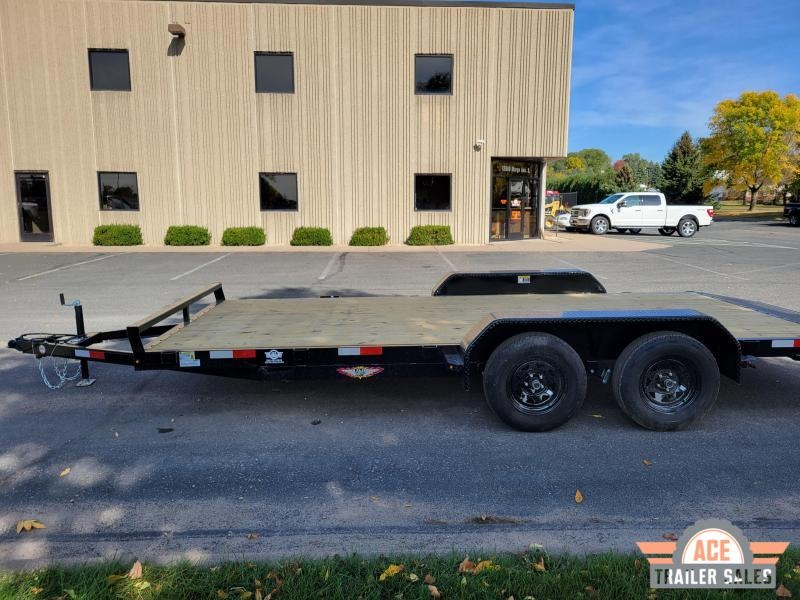 2022 H and H Trailer H8216+2GDFD-070 Car / Racing Trailer