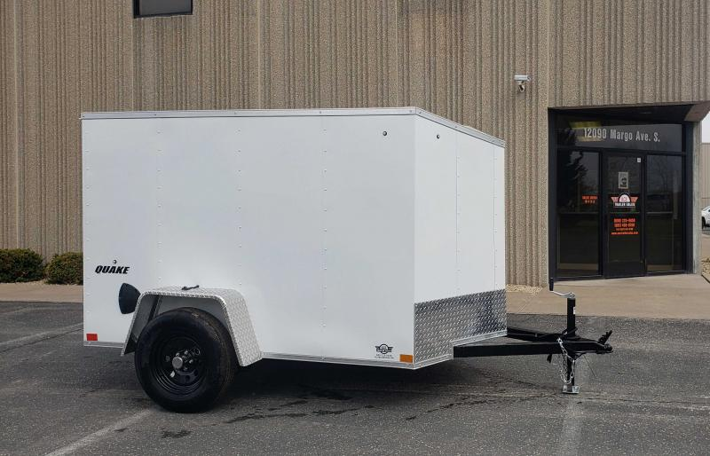 2021 Impact Trailers Quake 5x8SI2 Enclosed Cargo Trailer