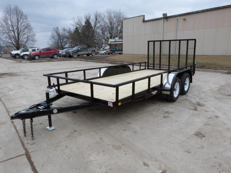 2020 H and H Trailer H8218TRS-070 Utility Trailer