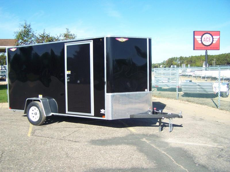 2020 H and H Trailer H7212SFTV-035 Enclosed Cargo Trailer SILVER