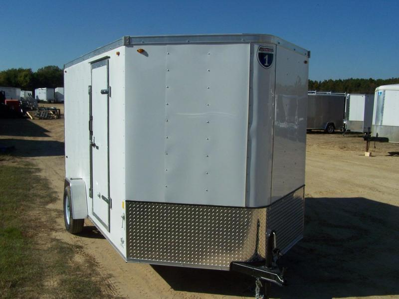 2021 Interstate SFC712SA Enclosed Cargo Trailer