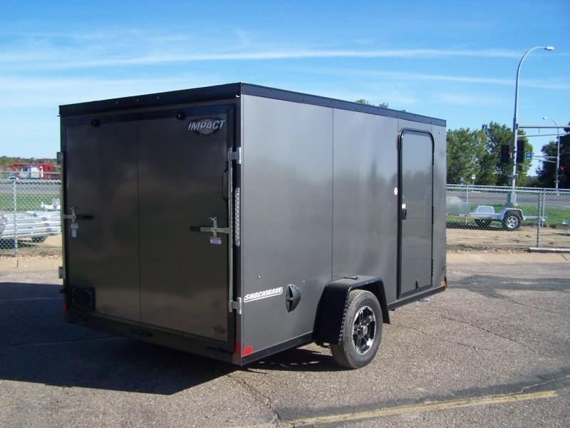 2021 Impact Trailers IMPSW6X12SI Enclosed Cargo Trailer - SILVER