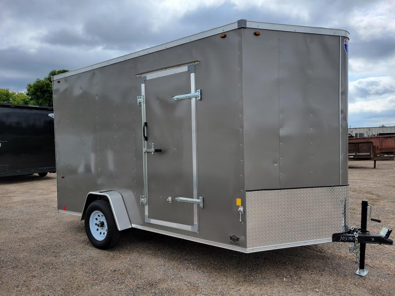 2021 USED Interstate 1 Trailers SFC712SAFS Enclosed Cargo Trailer