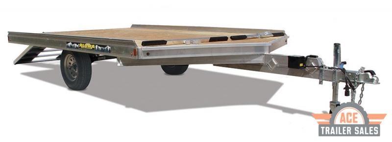 2022 Aluma 8610D Snowmobile Trailer