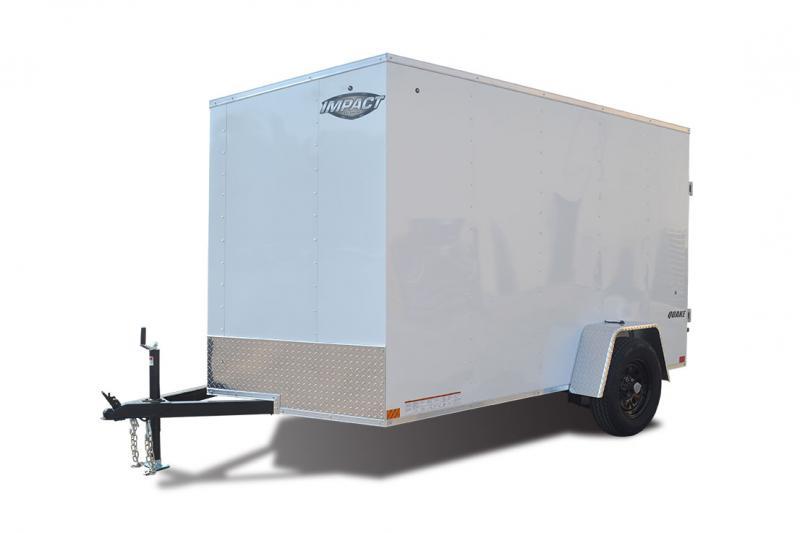2021 Impact Trailers  Quake 5x8SI2 Enclosed Cargo Trailer