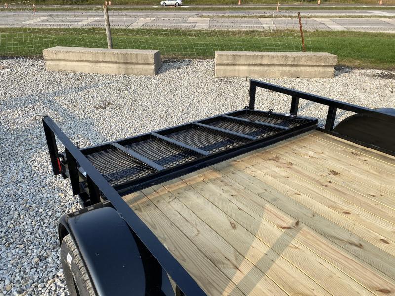 New Lamar 83x12' W / 2' Dovetail & 3' Gate