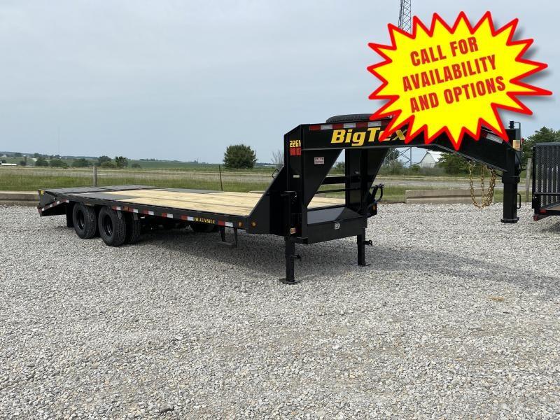 New Big Tex 25' Gooseneck 23900# GVWR
