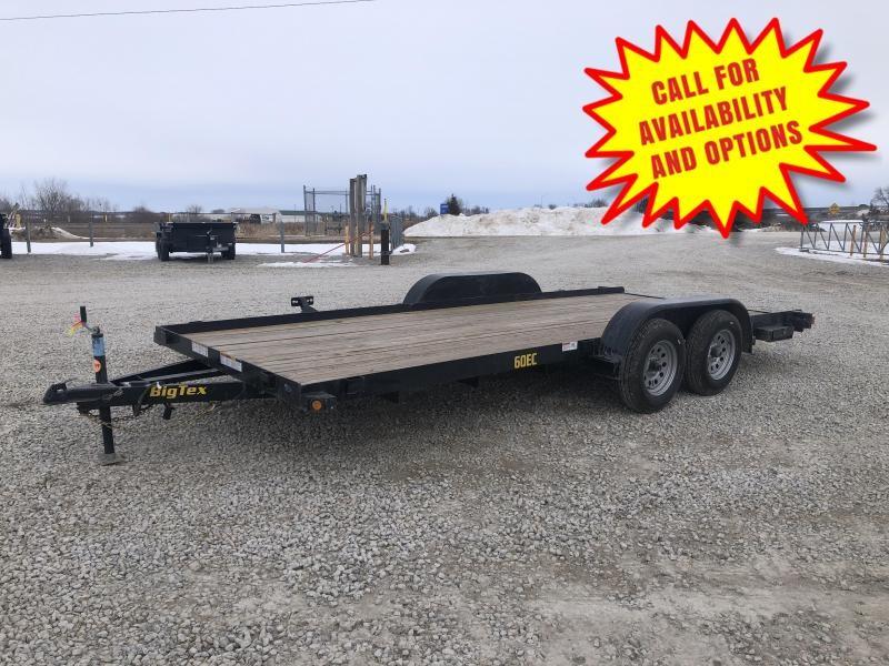 """New Big Tex 83""""x18' Car Hauler 6000# GVWR"""