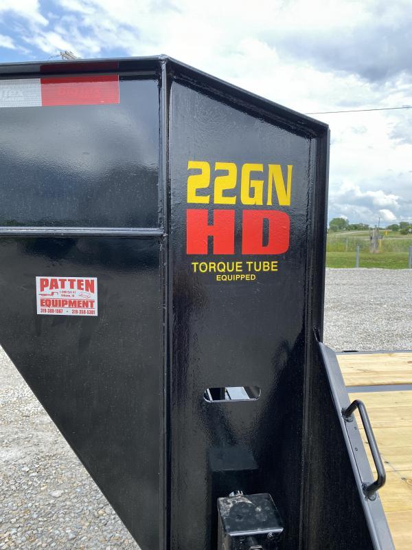New Big Tex 33' Gooseneck 23900# GVWR