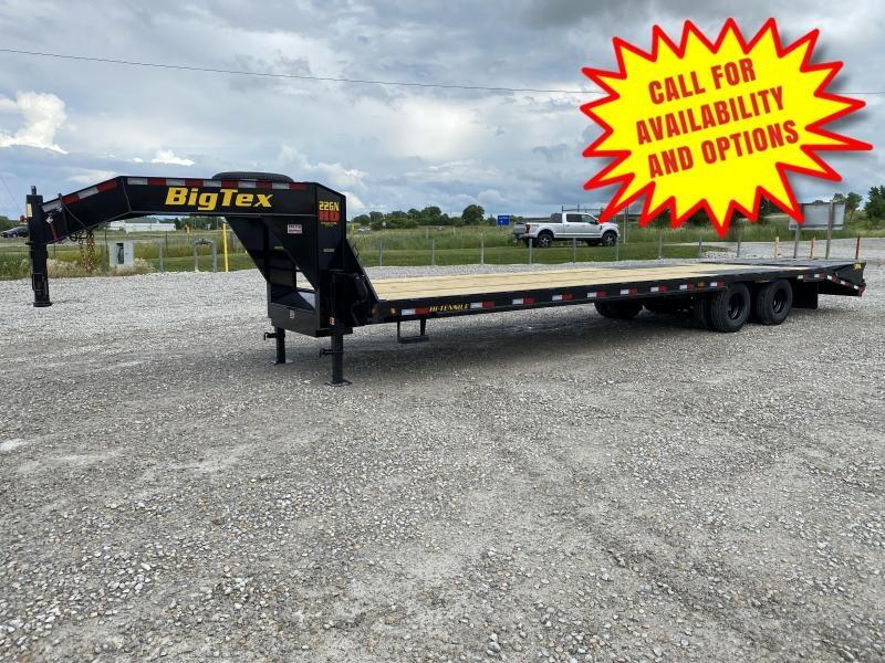 New Big Tex 33' Gooseneck W/ 30,000# Suspension