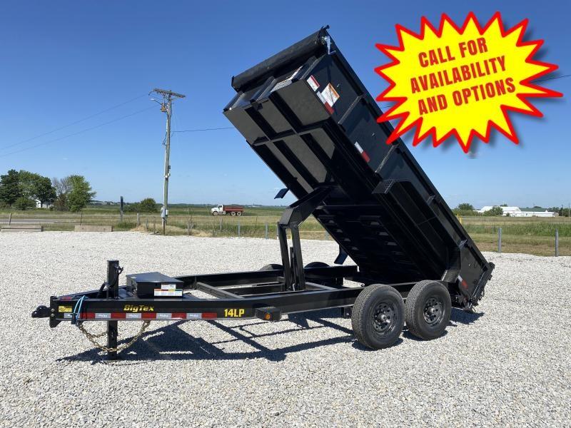 New Big Tex 14' Low Profile Dump 14,000#