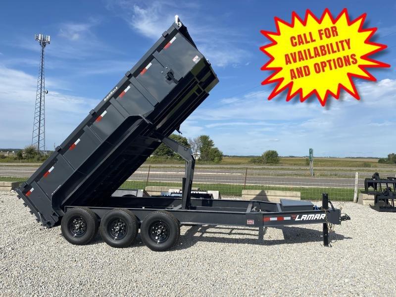 New Lamar 16' Dump W/ 3' Sides 21000# GVWR