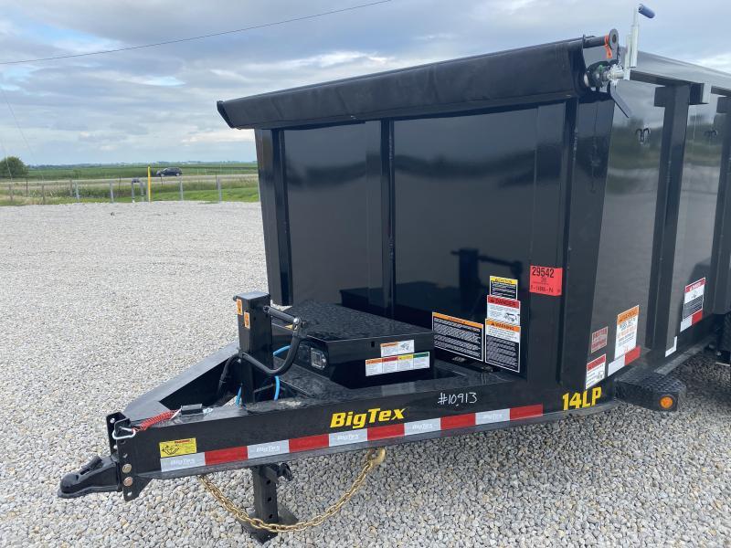 New Big Tex 14' Dump W / 4' Sides 14000# GVWR