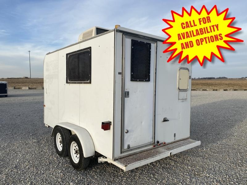 1993 Might Mover 7'x12' Job Trailer