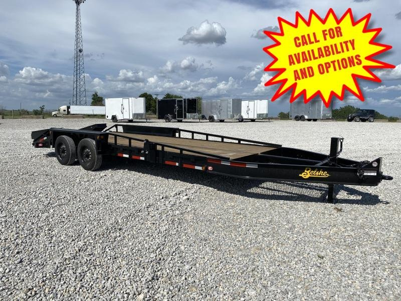 New 23' Commercial Grade Equipment Hauler 18000#