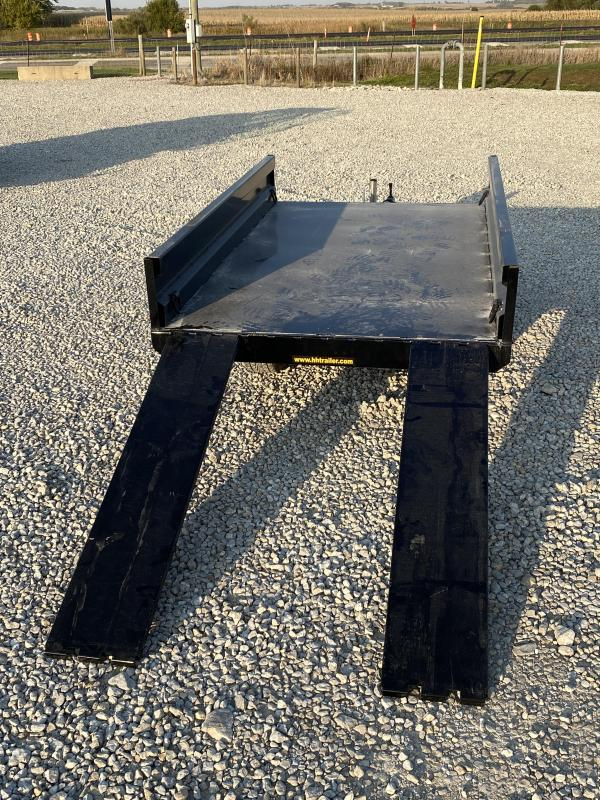 """New H and H 54""""x8' Homeowner Dump W / Ramps"""