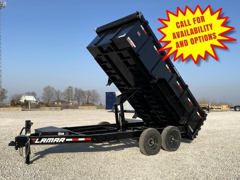 New Lamar 14' Dump W / 3' Sides 14000# GVWR