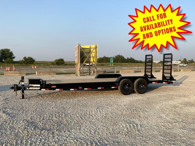 "New Lamar 83""x22' Skid Loader Trailer 14000#"