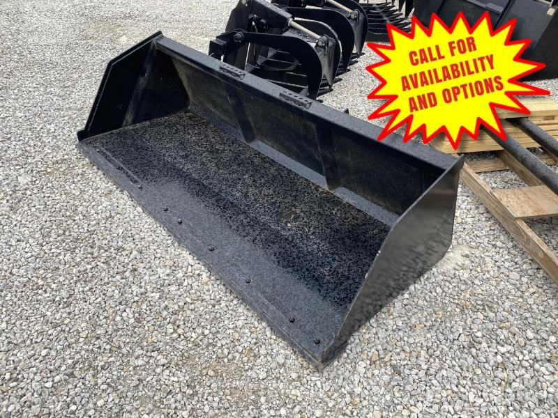 New 8' Snow & Litter Bucket W / Bolt On Edge
