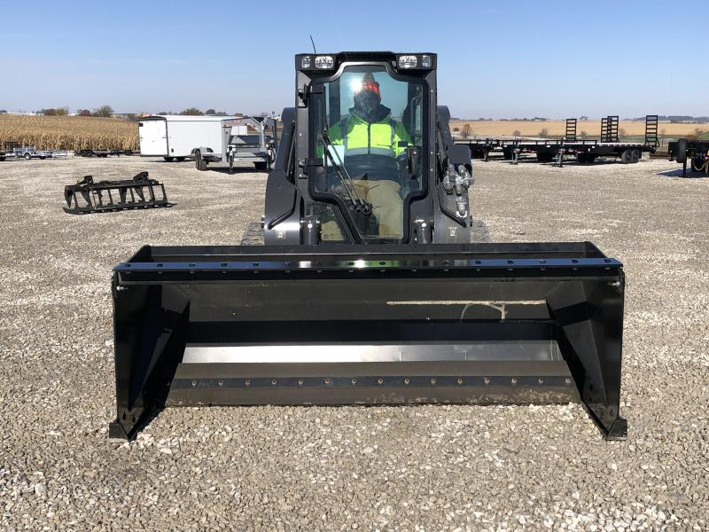 New 8' Snow Pusher W / Pull Back Kit