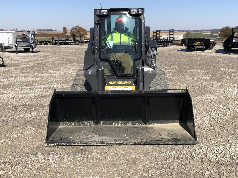 New 7' Snow And Litter Bucket W / Bolt On Edge