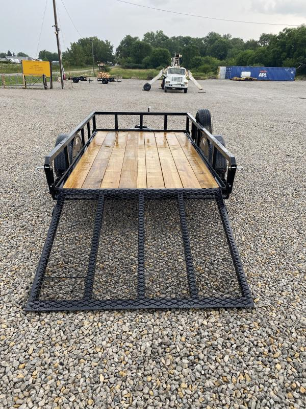 """New H and H 66""""x10' Forward Folding Gate & Spare"""