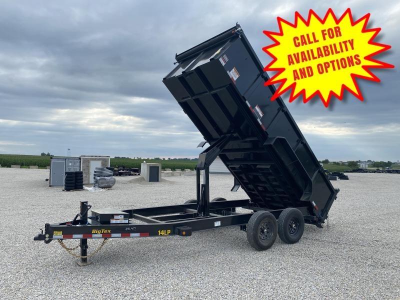 New Big Tex 16' Dump W / 3' Sides 14000# GVWR