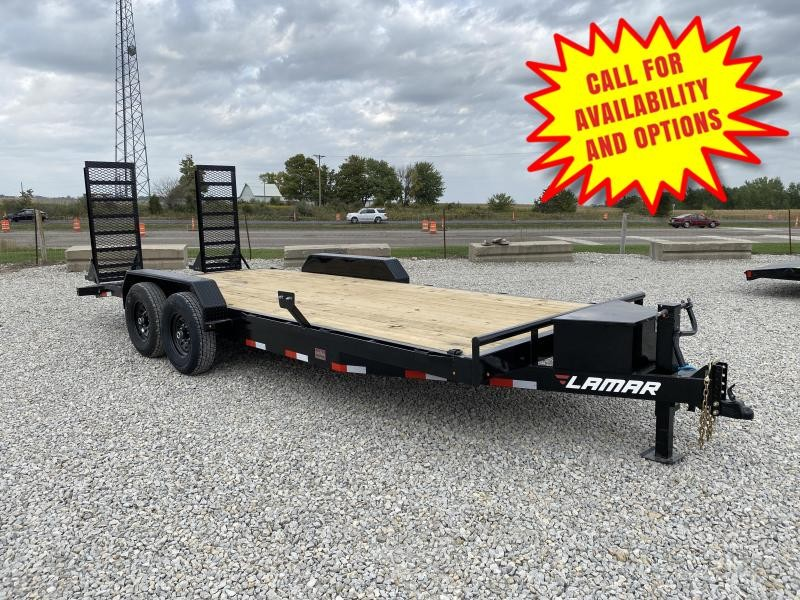 New Lamar 20' Skid Loader Trailer 14000#