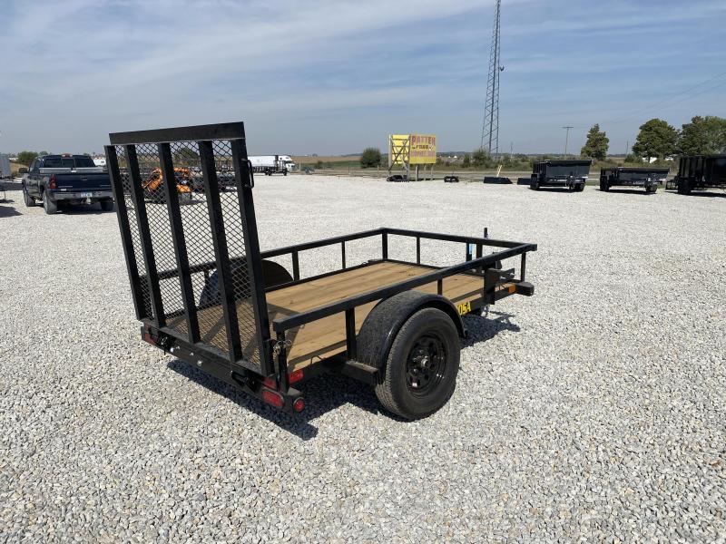 New Big Tex 5'x8' W/ H.D. Spring Assist Gate