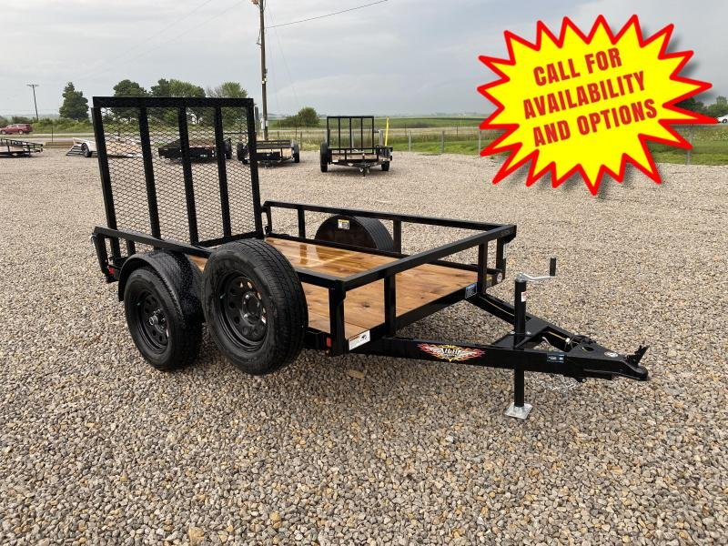 New H and H 5'x8 W/ Forward Folding Gate & Spare