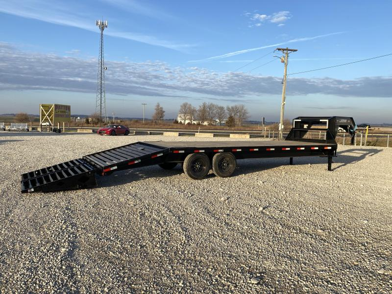 New Lamar 25' Gooseneck 14000# GVWR