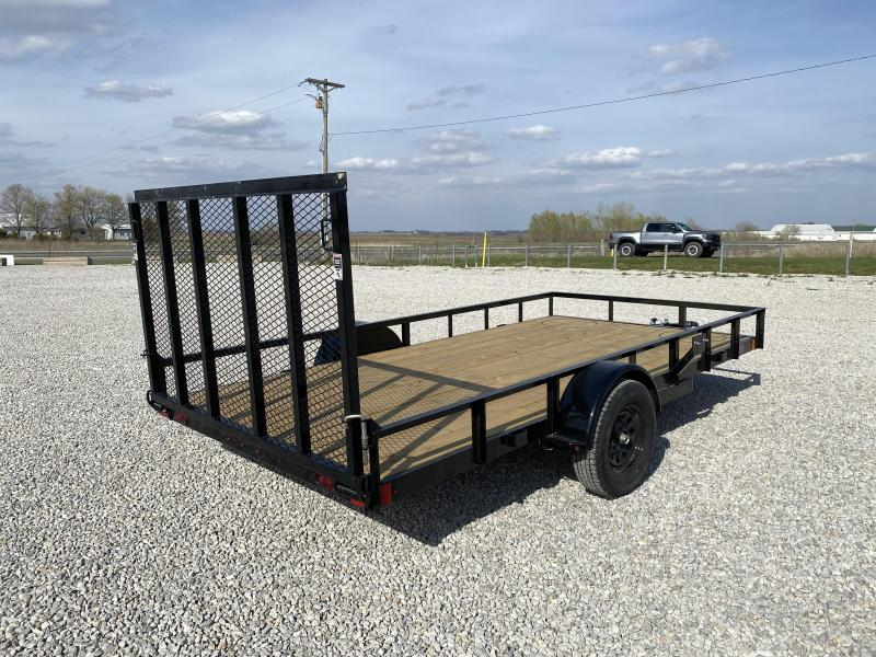 "New Lamar 83""x14' H.D. W / Dual Spring Assist Gate"