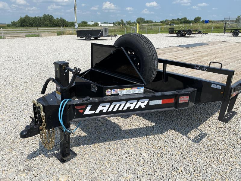 "2021 Lamar 102""x20' Deck Over 14000# GVWR"