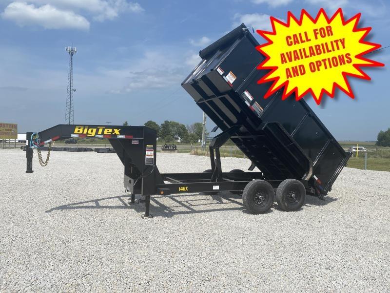 New Big Tex 14' Gooseneck Dump W/ 4' Sides