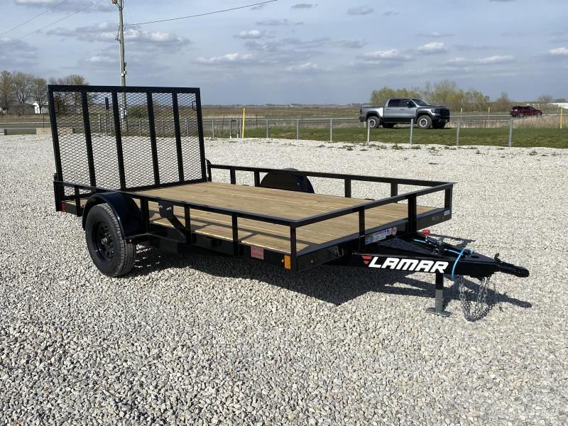 "New Lamar 83""x12' H.D. W / Dual Spring Assist Gate"