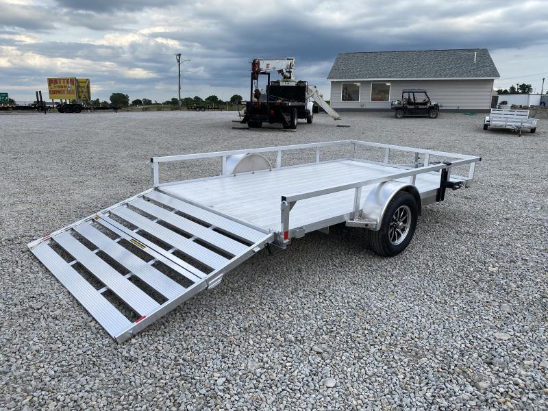 """New H and H 82""""x12' W / Aluminum Floor"""