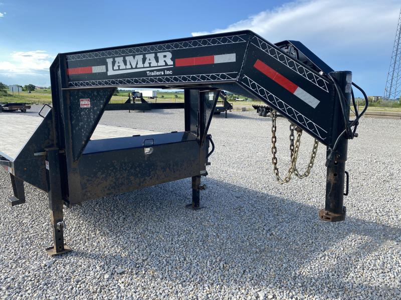 "(2) 2017 Lamar 102""x40' Gooseneck 14000# GVWR"