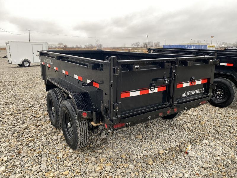 """New Ironbull 72""""x12' Dump 14000# GVWR"""