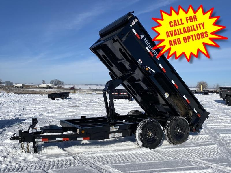 "New Ironbull 72""x12' Dump 14000# GVWR"